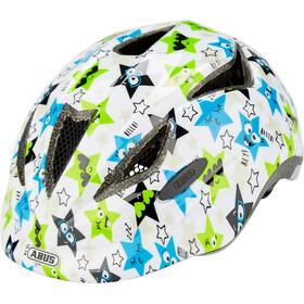ABUS Anuky Helmet Kinder white star